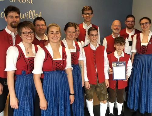 """Stadtkapelle Freising erhält Prädikat """"mit ausgezeichnetem Erfolg"""""""